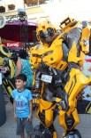 BILIMKURGU - Transformers'in Efsane Robotları Forum Mersin'de Çocuklarla Buluştu