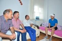 Başkan Üzülmez, Hasta Hemşehrilerini Ziyaret Etti