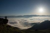 NEBIOĞLU - Bu Manzara İçin Bin Kilometre Uzaktan Gümüşhane'ye Gelip Sabaha Kadar Beklediler