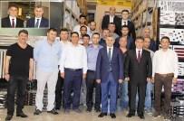 SADıK TUNÇ - Karabağlar Kaymakamı, Kahraman 35 Yapı'yı Ziyaret Etti