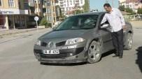 KAFA TRAVMASI - Kulu'da Otomobil Motosikletle Çarpıştı Açıklaması 1 Yaralı