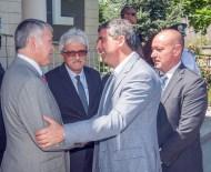 BULGARİSTAN CUMHURBAŞKANI - Bulgaristan Cumhurbaşkanı Plevnelıev Kapıkule'de