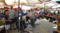 Burhaniye'de Yazlıkçılara Özel Pazar