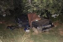PıNARDERE - Emekli Komiser Ve Eşi Trafik Kazası Kurbanı