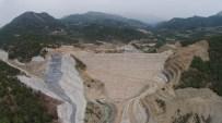 BEYOBASı - Gökçeler Barajı'nda Çalışmalar Devam Ediyor