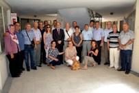 TAHSIN KURTBEYOĞLU - Kaymakamı Kurtbeyoğlu'ndan Sökeli Şair Ve Yazarlara Ziyaret