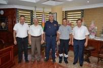 ERENTEPE - Kumluca'daki Yangında Tehlike Atlatan 2 İtfaiyeciye Ödül