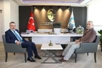NECMETTIN YALıNALP - Trabzon'dan Manisa Büyükşehir Belediyesine Ziyaret