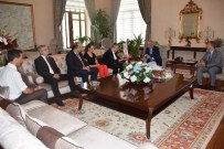 TURGAY ŞIRIN - Turgutlu OSB'den Vali Güvençer'e Ziyaret