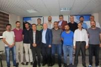 BASIN KARTI - Türkiye Gazeteciler Konfederasyonu Heyeti Hakkari'de