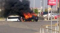 SÖNDÜRME TÜPÜ - Atatürk Havalimanı'nda Yangın Paniği