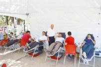 ALI ERDOĞAN - Besni İlçesinden Kızılay'a Kan Bağışı