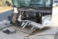 Milas'ta Trafik Kazası Açıklaması 1 Ölü 3 Yaralı