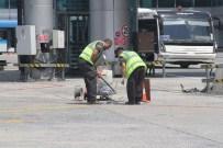 DAMACANA - Apronda Çalışan İşçilerin Sıcak Havayla İmtihanı