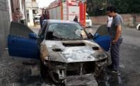 ELEKTRİK KONTAĞI - Lüks Otomobil Küle Döndü