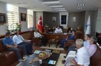 Sumotaş Lojistik Yönetim Kurulu, Başkan Üzülmez'e Nezaket Ziyaretinde Bulundu