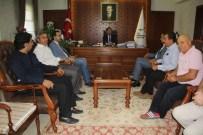 MUSTAFA AVCı - ASKF Yöneticileri Vali Aktaş'ı Ziyaret Etti