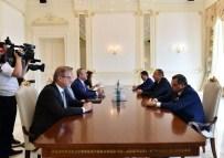 YUKARı KARABAĞ - Bakan Çavuşoğlu, Azerbaycan Cumhurbaşkanı Aliyev'le Görüştü