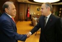 FARUK ÖZÇELIK - Bakan Kılıç, Taksim Spor Kulübü Başkanı Hamamcıoğlu'nu Kabul Etti