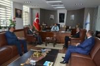 Başkan Üzülmez, Kocaelispor Başkanı Ve Yöneticilerini Ağırladı