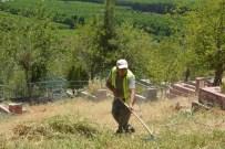 SU TESİSATI - Çiftehavuzlar Mezarlığı'nda Bakım Ve Onarım Başladı