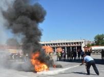 ANKARA İTFAİYESİ - İtfaiyeden 'Yangına İlk Müdahale' Eğitimi