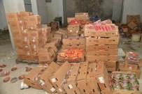 MEZOPOTAMYA - Tarihi Geçmiş 1,5 Ton Gıda Maddesi Ele Geçirildi