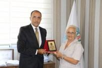 ŞEHİT AİLELERİ - TEMŞAD'dan Başkan Ergün'e Teşekkür Plaketi