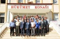 Vali Tapsız'ın İlçe Ziyaretleri Devam Ediyor