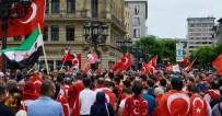 BAŞKONSOLOSLUK - Almanya'daki Türklerden Darbe Girişimine Tepki