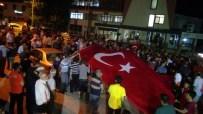 GÖVDELI - Doğanşehir'de De Binlerce Kişi Sabaha Kadar Sokaktaydı