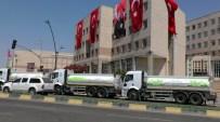 KAMU BİNASI - Gaziantep Büyükşehir Belediyesinde İş Makinelerinden Set