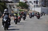 Motosiklet Tutkunları Eğirdir'de Buluştu