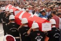MEHMET ŞÜKRÜ ERDİNÇ - Şehit İkiz Polisler Son Yolculuğuna Uğurlandı