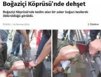 SÖZCÜ GAZETESI - Sözcü'nün boğaz kesme yalanına soruşturma!