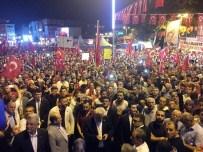 VOLKAN BOZKIR - 100 Bini Aşkın Esenlerli, Mehter Takımı İle Demokrasi Yürüyüşü Yaptı