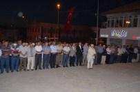 ASıMıN NESLI - Başkan Şinasi Gülcüoğlu Demokrasi Nöbetinde Hainlere Ateş Püskürdü