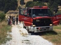 SİGARA İZMARİTİ - Bozdağ'da Sigara İzmariti Yüzünden Yangın Çıktı