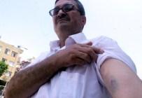 İNCELER - Darbe Girişimini Protestoya Giderken Polis Darp Etti