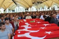 ŞEHİT AİLELERİ - Demokrasi Şehitleri Son Yolculuğuna Uğurlandı