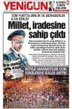 HÜRRIYET GAZETESI - Erzurum'da Askeri Darbelere 'Manşet'li Gönderme...