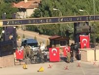 ZIRHLI BİRLİK - Etimesgut'taki Zırhlı Birlikler'in kapıları tutuldu
