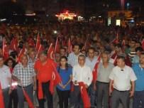 YıLMAZ ŞIMŞEK - Dalaman'da Demokrasi Nöbeti Devam Ediyor