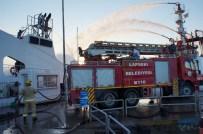SİGARA İZMARİTİ - Feribotta Yangında Sönmemiş İzmarit Şüphesi
