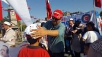 HIZMET İŞ SENDIKASı - Hak-İş Kayseri İl Temsilciliği 'Milli İrade Ve Demokrasi Çadırı' Kurdu