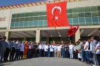 Viranşehir'de Sağlık Çalışanları Darbe Girişimine Tepki Gösterdi