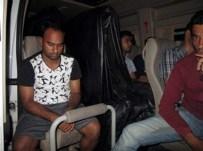 SARıKEMER - 1'İ Türk 12 Kaçak Yurt Dışına Çıkamadan Yakalandı