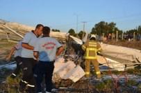 EĞİTİM UÇAĞI - Balıkesir'deki Uçak Kazasının Acısı Aydın'a Düştü