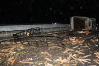 NESIM - Kaza Yapan Komyonete, Yolcu Otobüsü Çarptı Açıklaması 4 Yaralı