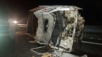 NESIM - Konya'nın Ereğli İlçesinde Meydana Gelen Kazada 1'İ Ağır 4 Kişi Yaralandı